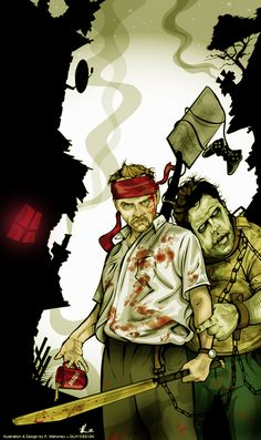 Shaun of the Dead (2004) by angelgaby