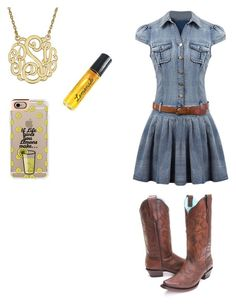 Western Rider by balletlover11 on Polyvore featuring polyvore, Casetify, I'm Fabulous, fashion, style and clothing