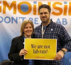 Dave and Lisa of Food Democracy Now! are standing with GMO Insiders demanding that Cheerios remove their GMO ingredients from their cereal. Share this post on Cheerios wall here: https://www.facebook.com/Cheerios