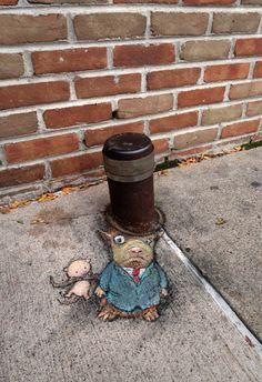 big hat, small problems (Photo:David Zinn)  via @AOL_Lifestyle Read more: https://www.aol.com/article/news/2017/06/02/artists-captivating-chalk-street-art-will-make-you-do-a-double/22106424/?a_dgi=aolshare_pinterest#fullscreen