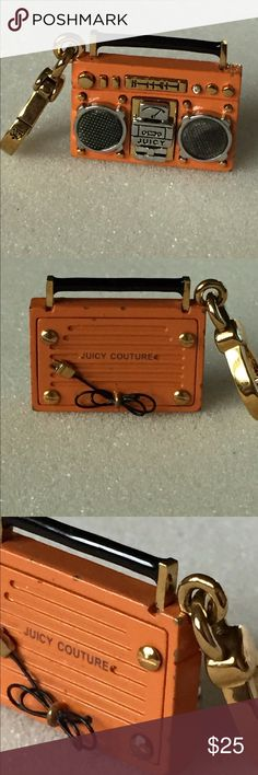 Juicy Couture Boom Box Charm Pre-owned, no box.. Pleas see pictures.. Juicy Couture Jewelry Bracelets