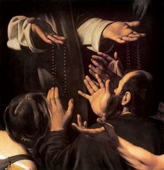 Clinton has declared war on the Catholic Church. Praying The Rosary, Holy Rosary, Caravaggio, Madonna, Pray For Us, Baby Art, Michelangelo, Our Lady, Art World