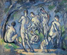 Paul Cézanne - Seven Bathers - 1900