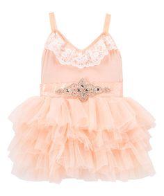 Look what I found on #zulily! Pink Crochet Ballet Dress - Infant, Toddler & Girls #zulilyfinds