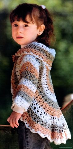 Circular Crochet Bolero + Diagram