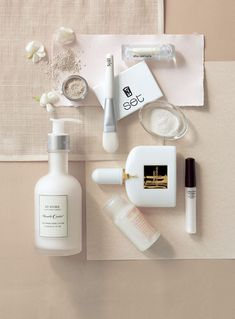 Skincare product styling