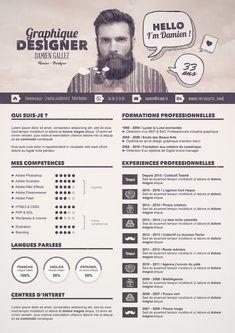 Tutoriel special graphiste - Créer un CV graphique avec Photoshop pour réussir…