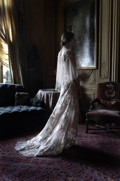 Fashion - Valentino, Vogue Italia 2011. Photo by Deborah Turbeville.