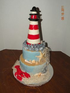 Lighthouse Cake by pearlie
