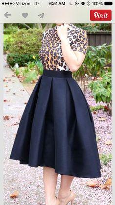 Loving the skirt