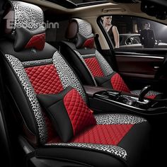 34 Best Red And Black Car Seat Covers Images Car Seats