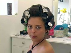 Wet Set, Perm Rods, Hair Nets, Roller Set, Curlers, Vintage Glamour, Curled Hairstyles, Hair Dryer, Bellisima