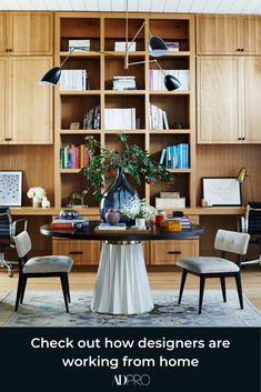 Why the Home Office Furniture You Use Matters Office Furniture, Office Decor, Office Ideas, Office Designs, Furniture Ideas, Interior Design Website, Farmhouse Side Table, Modern Farmhouse, Farmhouse Decor