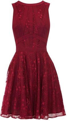 oasis Purple Gothic Lace Dress