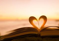 Book Page Heart at Sunset Photography (Art Prints, Wood & Metal Signs, Canvas, Tote Bag, Tow Adoption Books, Kings Home, Tiny Buddha, Books You Should Read, Love Challenge, Romantic Evening, Kids Diet, Stock Art, Sunset Photography