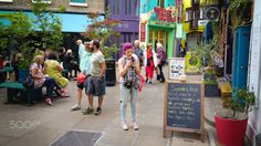 Alleyway, Covent Garden, Travel Photography, Street View, Yard, London, Times, Places, Color