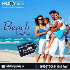 Book online best #beachestours packages at affordable price, go on EnjoyTrip and get amazing offers on all #tourpackages. here many beaches tour are available, #goabeaches #keralabeaches