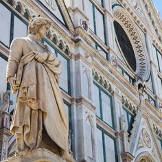 """LivTours on Instagram: """"One of the history's most important poet and philosopher died exactly 700 years ago (in 1321). His name was Dante Alighieri and you…"""" Florence Tuscany, Dante Alighieri, Visit Italy, Poet, Statue, History, Instagram, Historia, Sculptures"""