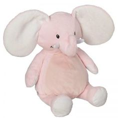 Personalized Stuffed Animals & Plush Toys for Baby - You Name It Baby! Embroidery Blanks, Machine Embroidery, Best Friends For Life, Pink Elephant, Wooden Diy, Boutique, Heat Transfer Vinyl, Personalized Gifts, Plush
