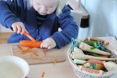 Kinder in der Küche, Montessori, Übungen des praktischen Lebens, Herausforderungen, Vorbereitete Umgebung, Ikea