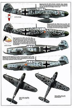 Bf 109 F, F1, F2, F4 and F4 Trop variants (11) | GLORY. The largest archive of german WWII images | Flickr
