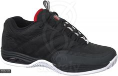 30389c3f9f1 The Black/White/Red skate shoe by eS Shoes was designed by Eric Koston and  released in