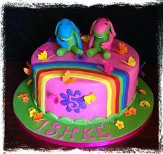 Lollos en Lettie cake by Sticky Fingers Birthday Parties, Birthday Cake, Sticky Fingers, Childrens Party, Cake Decorating, Party Ideas, Desserts, Kids, Amelie
