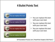 Stuck with Boring numbered or bulleted lists in PowerPoint? Here are examples to get your creative juices flowing!