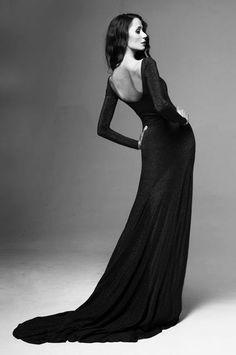 Model: Sanya Strauss Photograph: Marnus Mayer  Evening gown: Kat van Duinen