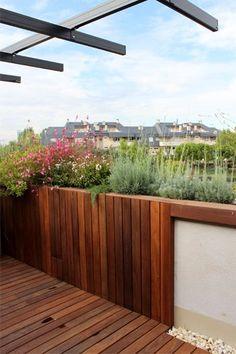 diseo de jardn y decoracin para una terraza pequea y con mucho encanto