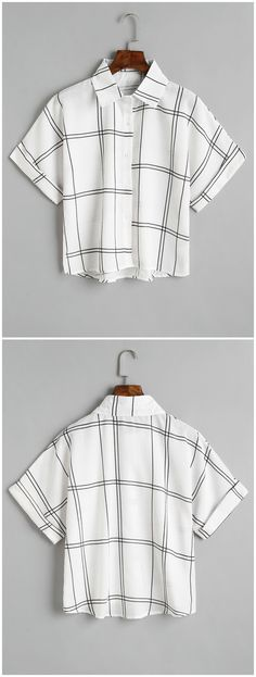Up to 80% OFF! Loose Button Down Checked Shirt. #Zaful #Tops zaful,zaful outfits,spring outfits,summer dresses,Valentine's Day,Valentine's Day gift,valentines day ideas,valentines outfits,cute,casual,classy,chic,women fashion,fashion,teen fashion,products,tops,blouse,off shoulder blouse,embroidered blouse,shirts,striped shirts,T-shirt,tees,t shirts,teeshirts,tank tops,crop tops,shirts,clothes,tunic tops,summer tops,lace top,ladies shorts,elegant outfits @zaful Extra 10% OFF Code:ZF2017