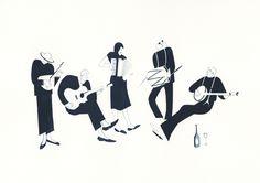 Sad Musicians | Jessica Meyrick