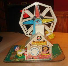 Fisher Price Musical Ferris Wheel (#969) made between 1966-1972