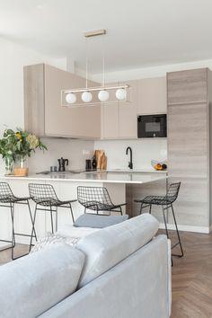 From Nordic Design Home Decor Kitchen, Kitchen Living, Home Kitchens, Home Room Design, Interior Design Kitchen, House Design, Interior Ideas, Condo Living, Modern Kitchens