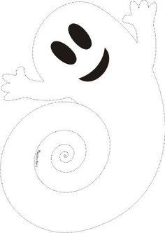 Halloween Maske videos Fantasma d - hallowenmask Moldes Halloween, Adornos Halloween, Halloween Tags, Halloween Crafts For Kids, Diy Halloween Decorations, Happy Halloween, Films D' Halloween, Halloween 2019, Holidays Halloween