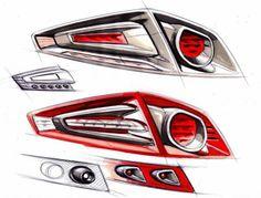 Car Design Sketch, Car Sketch, Future Ford, Sketch Head, Lamp Design, Light Design, Rendering Art, Lamp Inspiration, Car Head