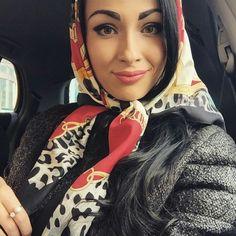 beautiful wife with headscarf Classy And Fab, Head Scarf Tying, Persian Girls, Beautiful Wife, Silk Scarves, Womens Scarves, Beautiful Scarves, Head Scarfs, Turbans