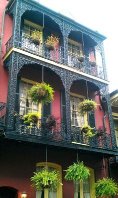 French Quarter architecture: