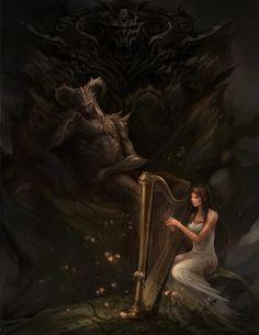 Hades and persephone (Greek)