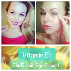 Vitamin E makes the most moisturizing, all-natural, wrinkle-fighting, budget-friendly eye cream!