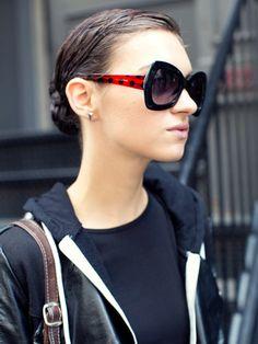 NYFW Model Street Style: Magda Laguinge
