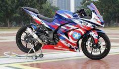 Hasil gambar untuk motor sport modifikasi ninja