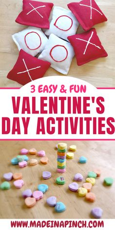 3 Easy & Fun Valentine's Day Activities for Kids. Perfect party games for a Valentine's party at school or at home! day party games for kids 3 Fun and Easy Valentine's Day Activities to Do This Year! Kinder Valentines, Valentines Day Activities, Party Activities, Valentines Day Party, Valentines Day Decorations, Valentine Day Crafts, Valentines Party Ideas For Kids Games, Valentine Games, Saint Valentine