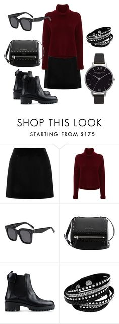 """""""КС 1"""" by mara-ya on Polyvore featuring Marc Jacobs, 360 Sweater, CÉLINE, Givenchy, RED Valentino and Olivia Burton"""