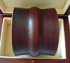 leather cuff beautifully formed