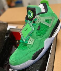 aca9cc773bd132 Mark Wahlberg Reveals Air Jordan 4 Wahlburgers PE Custom Sneakers