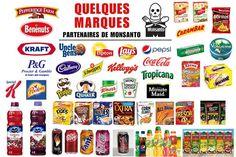 Les produits du géant de la biochimie Monsanto sont présents dans de très nombreux articles de consommation courante. Bio à la Une fait la liste de quelques unes des marques qu'il vaut mieux éviter afin de ne pas mettre n'importe quoi dans son assiette. Monsanto, titan de la biotechnologie, est tristement célèbre pour les scandales …