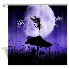 Superb New At @cafepressinc : #Fairy #Silhouette 2 #Shower #Curtain A Beautiful