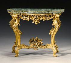 rocco furniture | italian rococo console table image rococo furniture