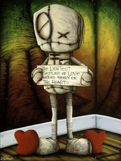 """Fabio Napoleoni """"If You're Mind Begins to Doubt"""" Limited Edition SN 97 - 24"""" by 32""""- Paper Giclee Print"""